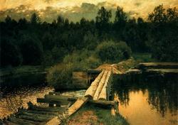 У омута. 1892 (И. Левитан)