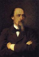 Портрет Н. Некрасова (И. Крамской)
