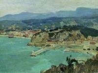 Озеро Комо. Италия. 1894