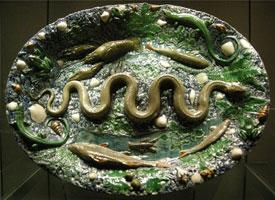 Овальное блюдо (Б. Палисси)