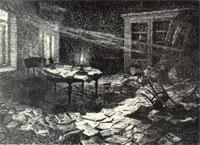 После обыска (Н.А. Касаткин)