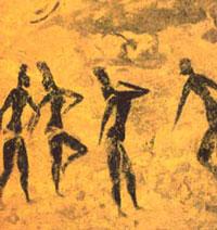 Фрески Тассили (женщины)