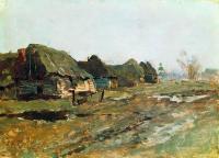 Постой в деревне. 1890-е