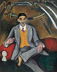 Портрет художника Г.Б. Якулова (П.П. Кончаловский)