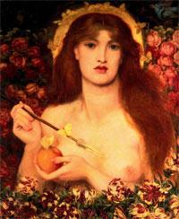 Венера Вертикордия (Д. Россетти)