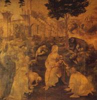 Поклонение волхвов (Л. да Винчи)