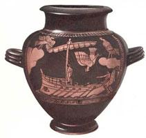 Аттическая ваза