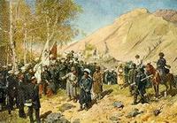 Пленение Шамиля (Ф.А. Рубо, 1886 г.)