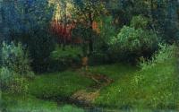 Дорога в лесу. Конец 1870 - начало 1880-х