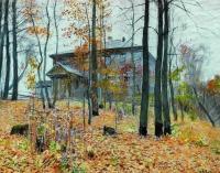 Осень. Усадьба. 1894