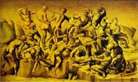 Битва при Кашине (Микеланджело Буонарроти)