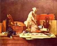 Атрибуты искусства (Ж.Б.С. Шарден, 1766 г.)