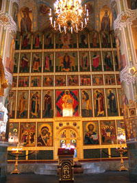 Иконостас Благовещенского собора