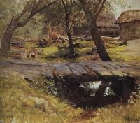 Мостик. Саввинская слобода. 1884