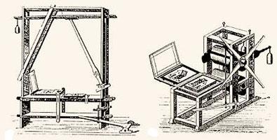 Первые литографские автоматические прессы