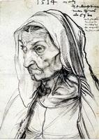 Портрет матери (А. Дюрер, 1514 г.)