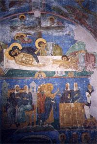 Положение во гроб (Мирожский монастырь)