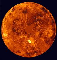 Венера в искуственном цвете