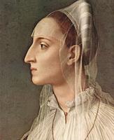 Портрет Лауры Баттиферри (А. Бронзино)