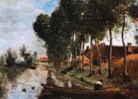 Пейзаж в Арле-дю-Нор (Жан-Батист Камиль Коро)