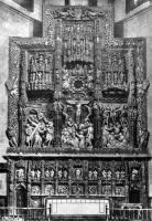 Ретабло собора в Уэске. Раскрашенный алебастр