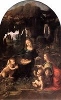 Мадонна в гроте (Франция, 1483-1486 г.)