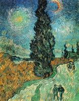 Пшеничное поле с кипарисами (1890 г.)