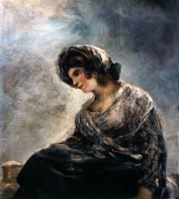 ФРАНСИСКО ГОЙЯ Молочница из Бордо. 1827–1828