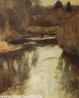 Река. Этюд. 1890-е