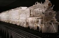 Поезд (резьба по слоновой кости)