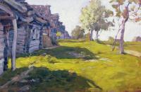 Солнечный день. Деревня. 1898