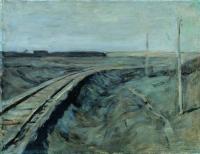 Полотно железной дороги. 1898-1899