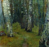 Березы. Опушка леса. 1880-е