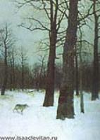 Зимой в лесу. 1885