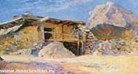 Сакля в Алупке. Этюд. 1886