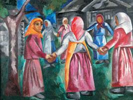 Бабы с граблями (Н.С. Гончарова)
