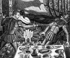Иллюстрация к Каменному гостю