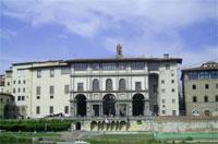 Фасад галереи Уффици