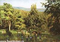 Пасека. Этюд. 1887