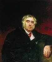 Портрет И.А. Крылова (К.П. Брюллов)