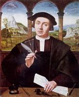 Портрет нотариуса (К. Массейс, 16 в.)