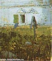 У церковной стены.Этюд.1885