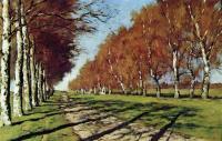 Большая дорога. Осенний солнечный день. 1897