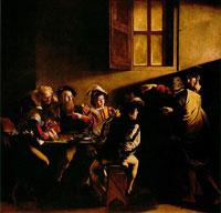 Призвание апостола Матфея (Караваджо, барокко)