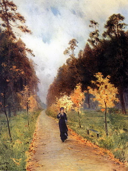 Осенний день. Сокольники. 1879 (И. Левитан)